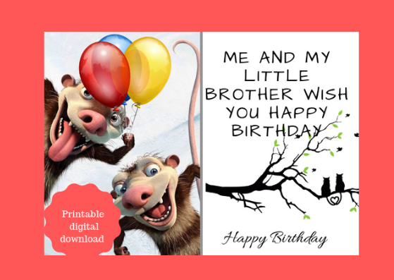picture relating to Printable Funny Birthday Card called Printable Humorous Birthday Card towards Present anyone
